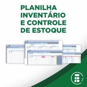 Planilha Controle de estoque e inventário