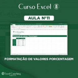 Como Formatar valores em porcentagem no Excel