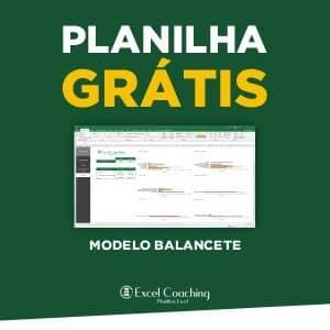 Planilha Grátis modelo de Balancete
