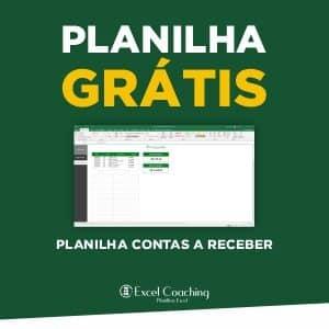Planilha Grátis Contas a Receber