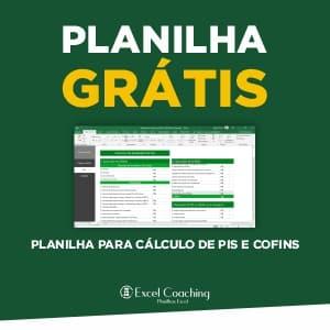 Planilha para Calculo de PIS e CONFINS Grátis Excel