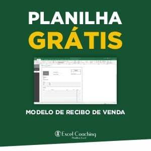 Planilha Grátis Modelo de Recibo de Venda