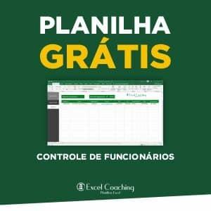 Planilha Grátis Controle de Funcionários Excel