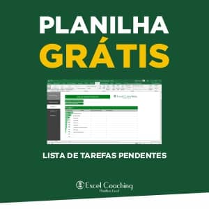 Planilha Grátis Lista de Tarefas Pendentes Excel