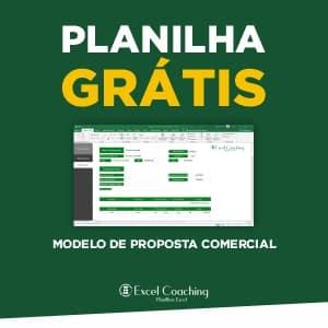 Planilha Grátis Modelo de Proposta Comercial Excel