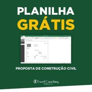 Planilha Grátis Proposta de Construção Civil