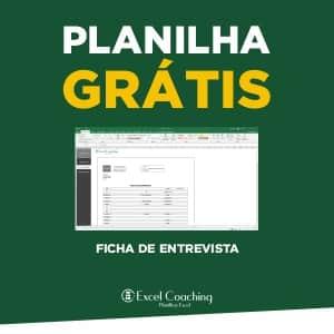 Planilha Grátis Ficha de Entrevista