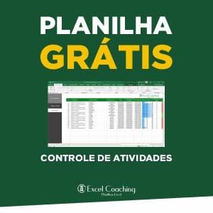 Planilha Grátis Controle de Atividades Excel