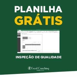 Planilha Grátis Ficha de Inspeção de Qualidade