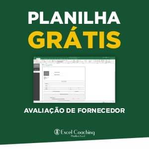 Planilha Ficha de Avaliação de Fornecedor Grátis