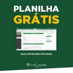 Planilha Grátis Guia de Exame em Excel
