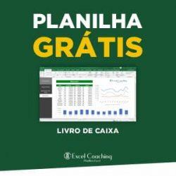 Planilha Grátis Livro de Caixa em Excel
