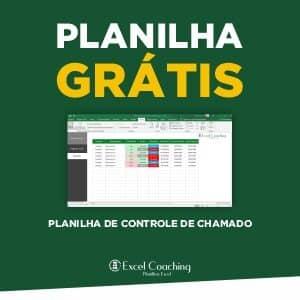Planilha Grátis Planilha de Controle de Chamado em Excel