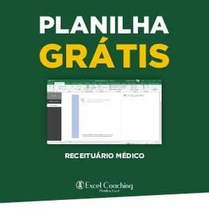 Planilha Grátis Receituario em Excel em Excel