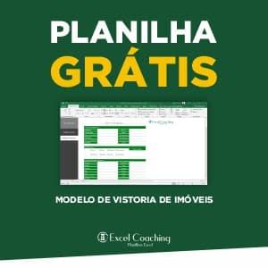 Planilha Grátis Modelo de Vistoria de Imóveis em Excel
