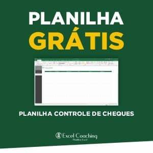 Planilha Controle Cheques Grátis