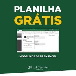 Planilha Modelo de DARF Grátis em Excel