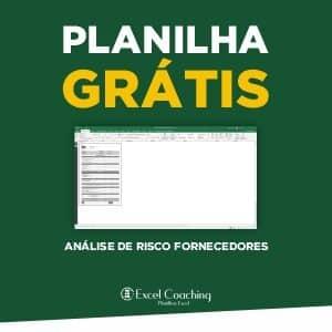 Planilha Analise de Risco de Fornecedores Grátis
