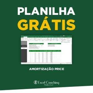 Planilha Amortização Sistema Price Gratis em Excel