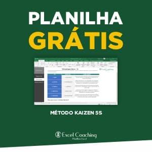 Planilha Método kaizen 5S Grátis em Excel