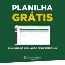 Planilha Avaliação de Desempenho Grátis em Excel